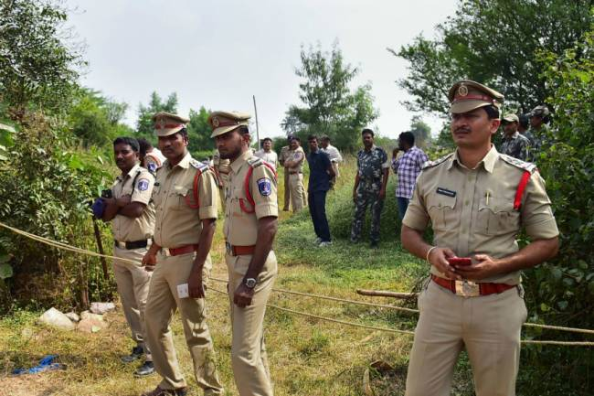 FIR Against 4 Rape Accused Killed in Encounter in Hyderabad for 'Attacking' Cops