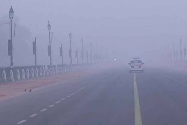 Intense cold grips Delhi, temperature dips to 2.4 degree celsius