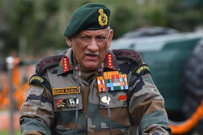 Will devise strategy after taking over as Chief of Defence Staff, says General Bipin Rawat