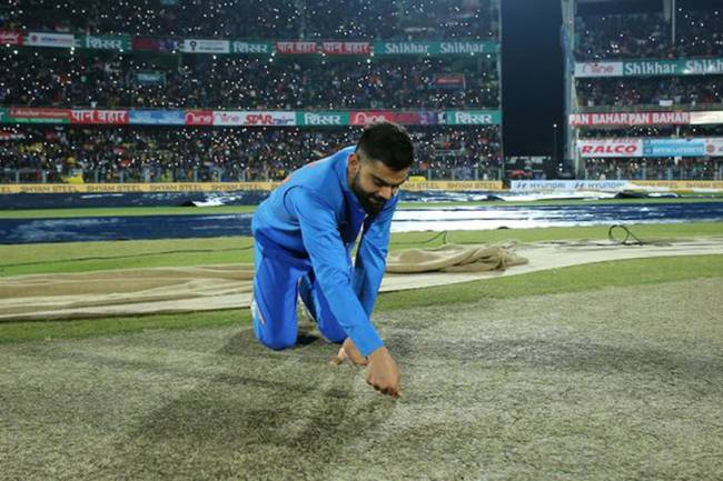 1st T20I: Match between India-Sri Lanka called off due to damp pitch