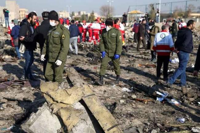 Iran admits to shooting down Ukrainian passenger plane, blames US for 'human error'