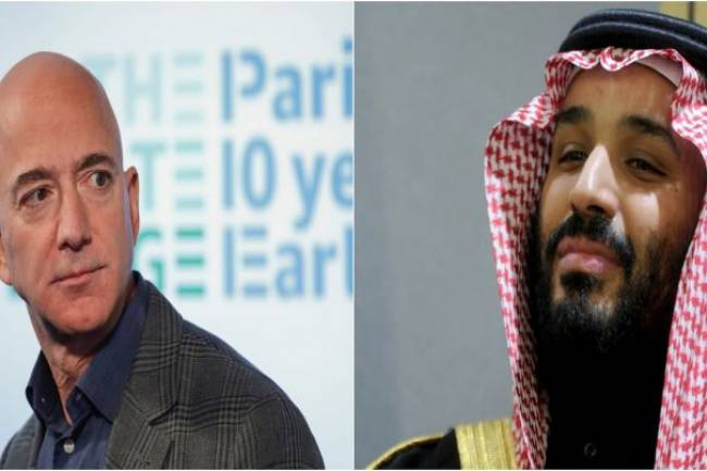 Jeff Bezos' phone was hacked after WhatsApp message from Saudi crown prince MBS