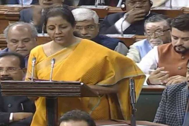 Union Finance Minister Nirmala Sitharaman to move the Banking Regulation (Amendment) Bill, 2020 in Lok Sabha on March 19