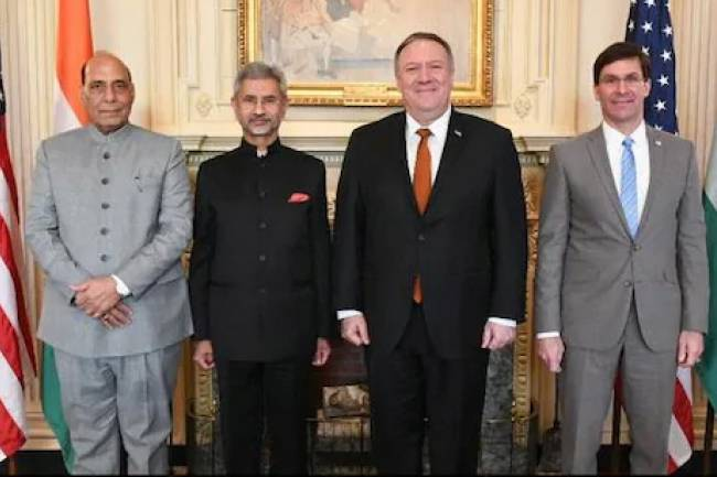 At India-US '2+2' Talks, Key Defence Agreement Expected Before US Polls
