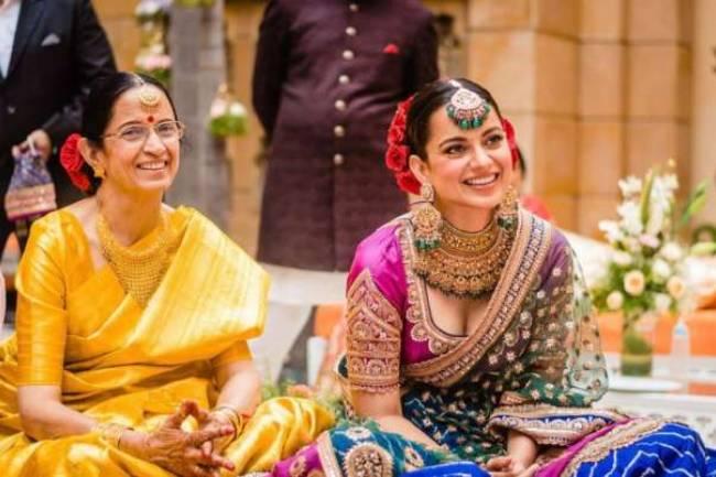 Kangana Ranaut's adorable birthday wish for mother, actress shares hiking photos with bhabhi