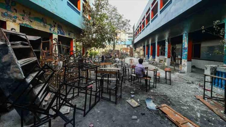 Delhi unrest: 1,880 distress calls on Sunday, 50 arrested, say police
