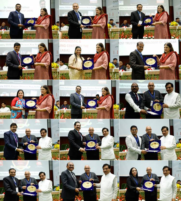 Asia Today Research and Media Acknowledged and Felicitated the Winners of Asia Healthcare Summit & Awards 2020